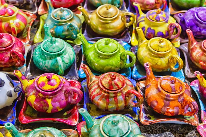 カラフル茶器