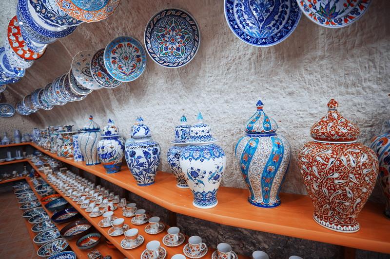 キレイな陶器